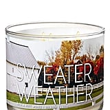 Bath and Body Works Sweater Weather 3-Wick Scented Candle