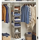 Better Homes & Gardens Charleston Collection 6 Shelf Closet Organizer
