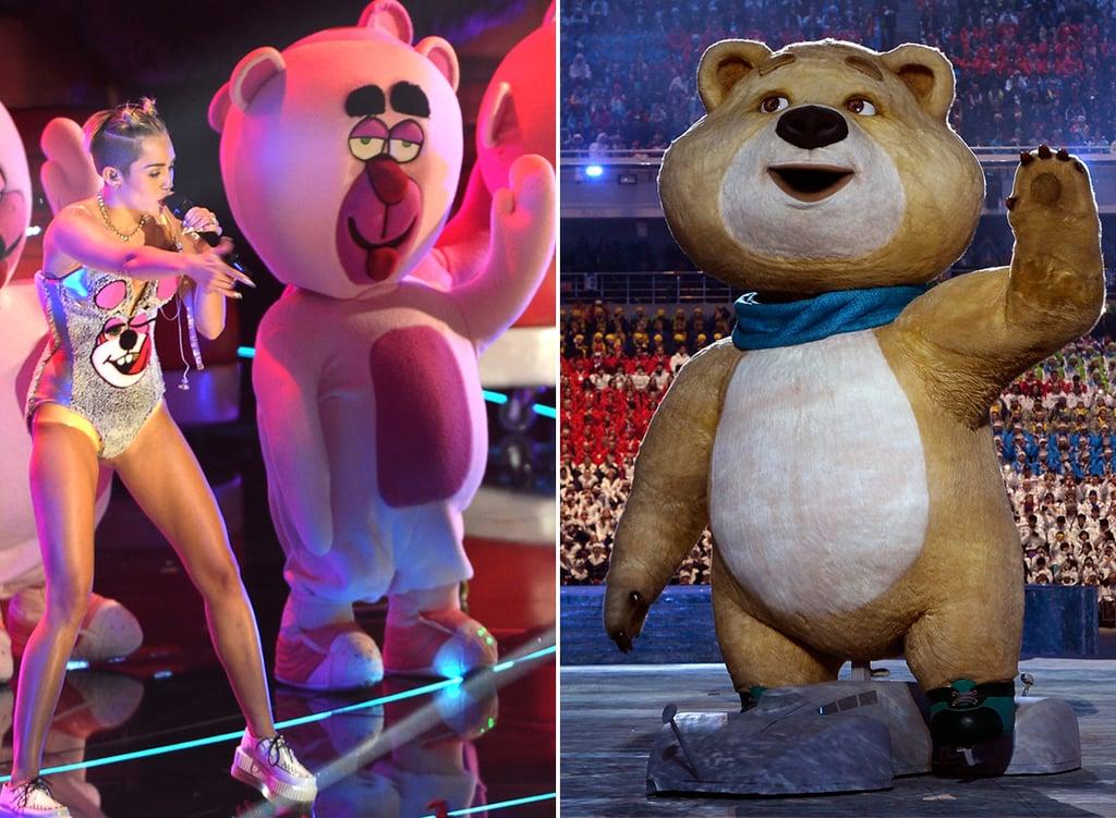 We Think We've Seen the Sochi Bear Before