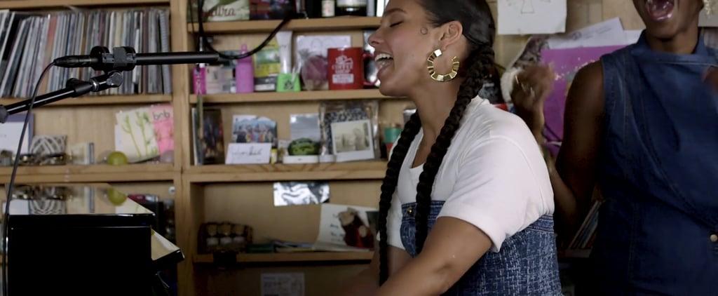 Watch Alicia Keys's Tiny Desk Concert Video