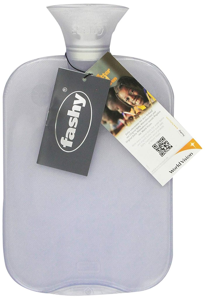 Fashy Transparent Classic Hot Water Bottle ($17)