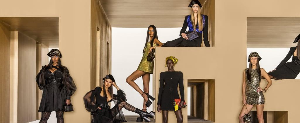 Versace's Autumn/Winter 2021 Collection Stars Gigi Hadid