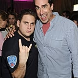 Rob Riggle and Jonah Hill partied at SXSW.