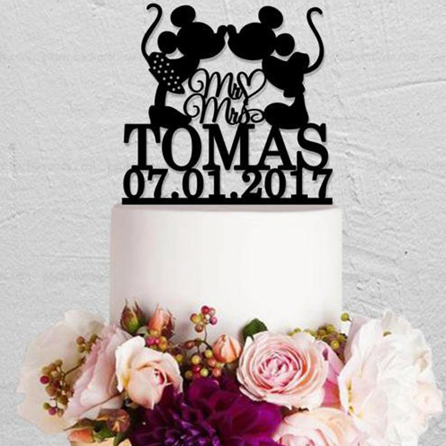 Disney Wedding Cake Toppers | POPSUGAR Love  Disney Wedding Cake Toppers
