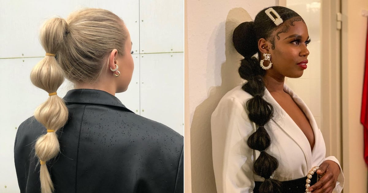 The Bubble Ponytail Trend From TikTok Will Make You Ditch Your Old Ponytail Immediately