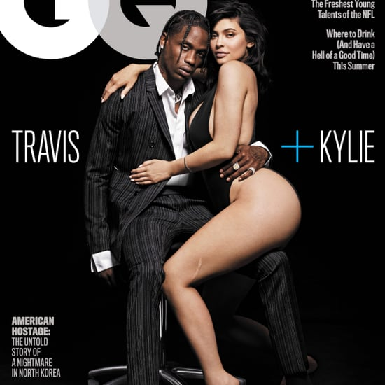 Kylie Jenner and Travis Scott GQ August 2018