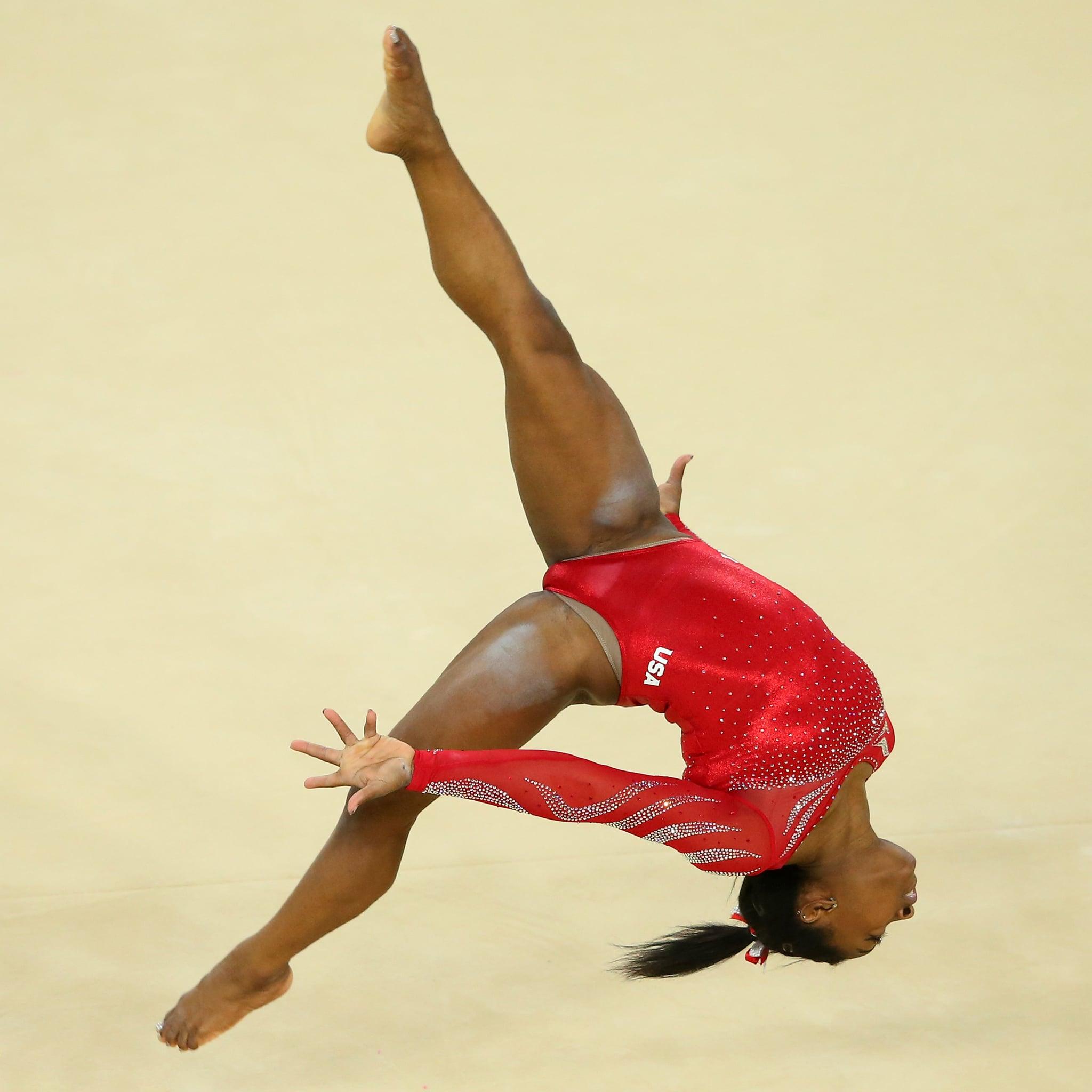 How Gymnast Simone Biles Deal With Fear