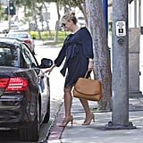 Pregnant Reese Witherspoon Kicks Off Her Weekend With Lunch