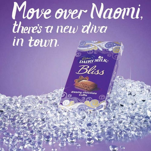 Naomi Campbell Is Target of a New Racially Charged Cadbury Chocolate Advertisement