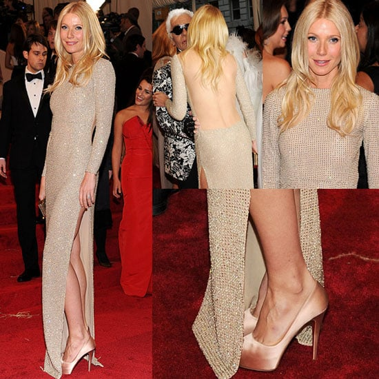 Gwyneth Paltrow in Stella McCartney at Met Gala