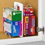 YouCopia White StoreMore Adjustable Foil & Wrap Organizer