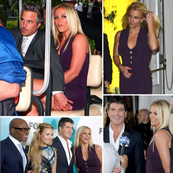 Britney Spears Demi Lovato New X Factor Judge Pictures
