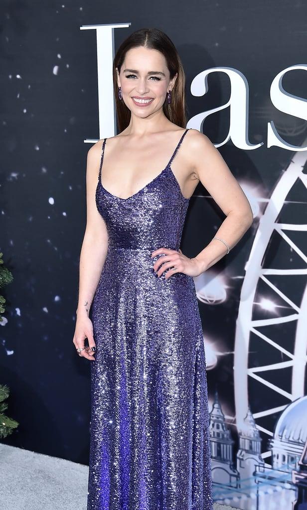 Emilia Clarke's Purple Nail Polish Color
