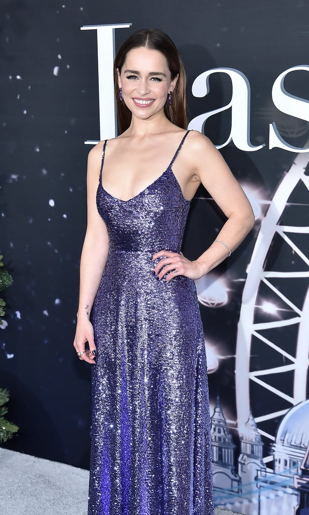 Emilia Clarke's Purple Nail Polish Colour