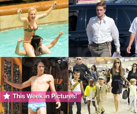 Russell Brand Shirtless, Lady Gaga in Bikini, Week Top Stories