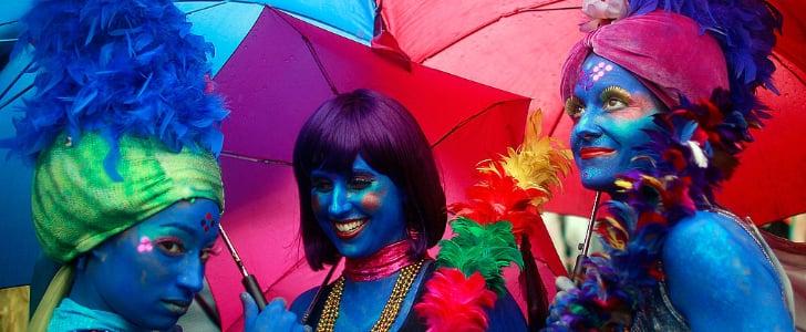 See Celebratory Mardi Gras Beauty Looks From Around the World