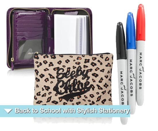 Go Back to School With Fashionable Stationery