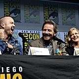 They Couldn't Stop Giggling When They Were Reunited For a Comic-Con Panel in July 2018