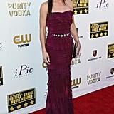 Sandra Bullock at the Critics' Choice Awards in Lanvin