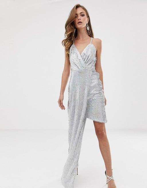 TFNC Silver Dress