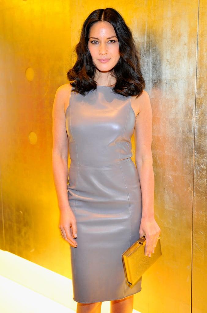 Olivia Munn at the Giorgio Armani Oscars Party