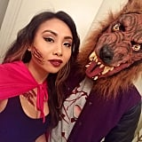 Werewolf and Little Red Riding Hood