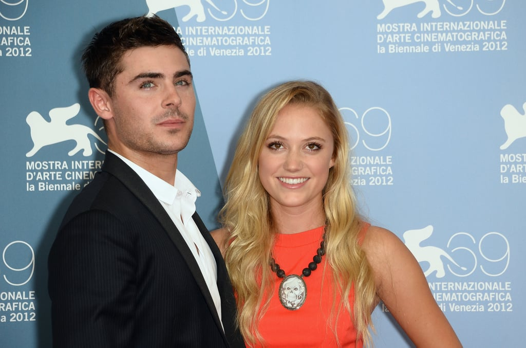 Zac Efron linked up with Maika Monroe for the At Any Price photocall at the Venice Film Festival.