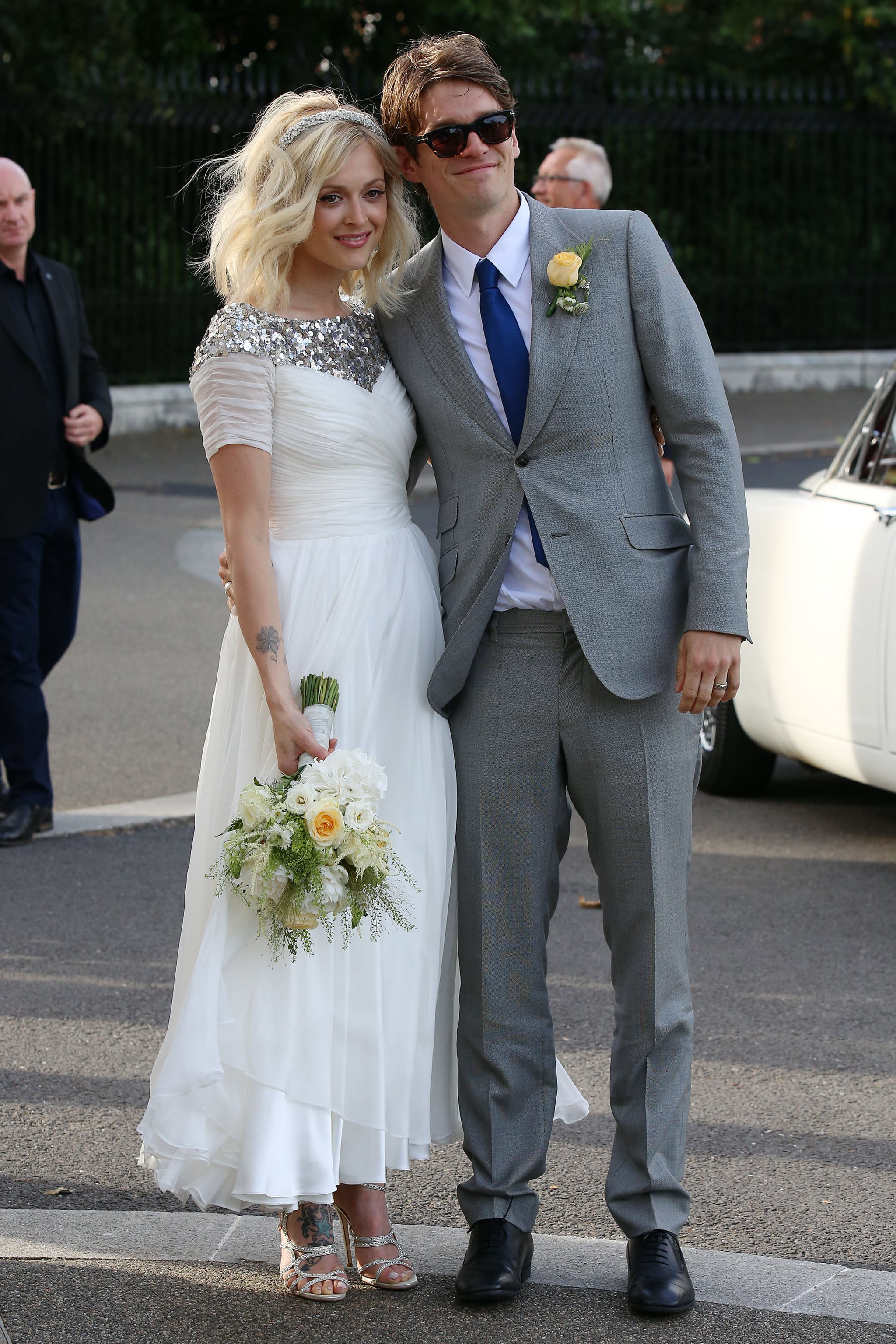 Fearne Cotton marries Jesse Wood in London