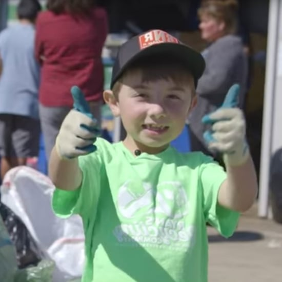 7-Year-Old Boy Has His Own Recycling Company