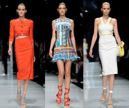 Spring 2011 Milan Fashion Week: Versace