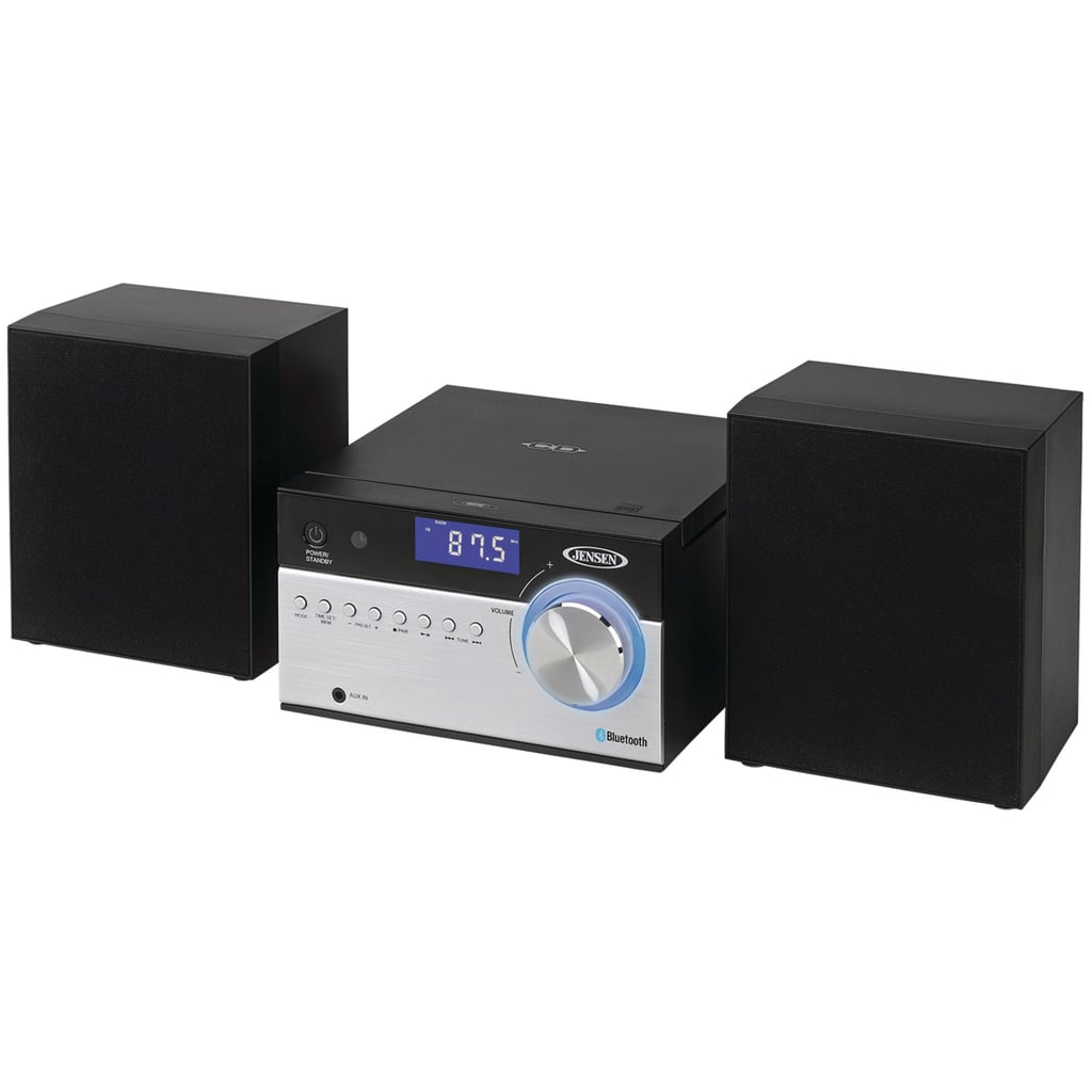 Jensen Bluetooth CD Music System With Digital AM/FM Stereo Receiver