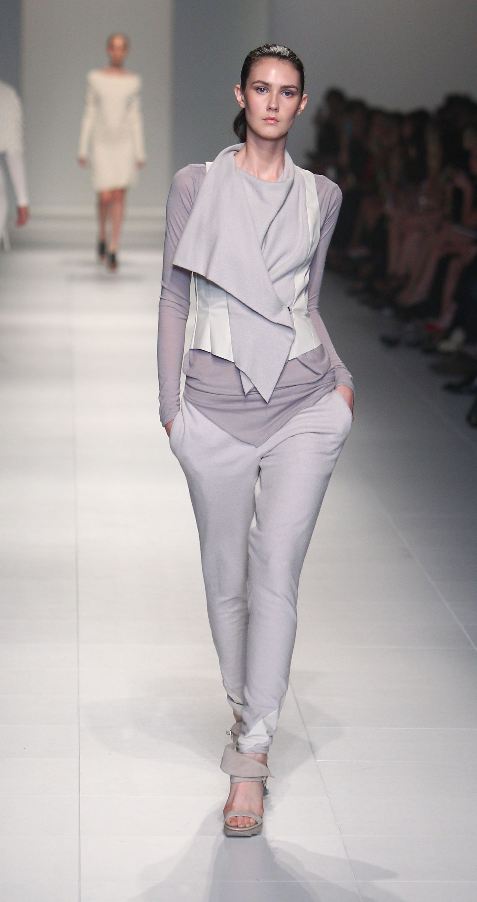 A lesson in chic layering from Lui Hon.