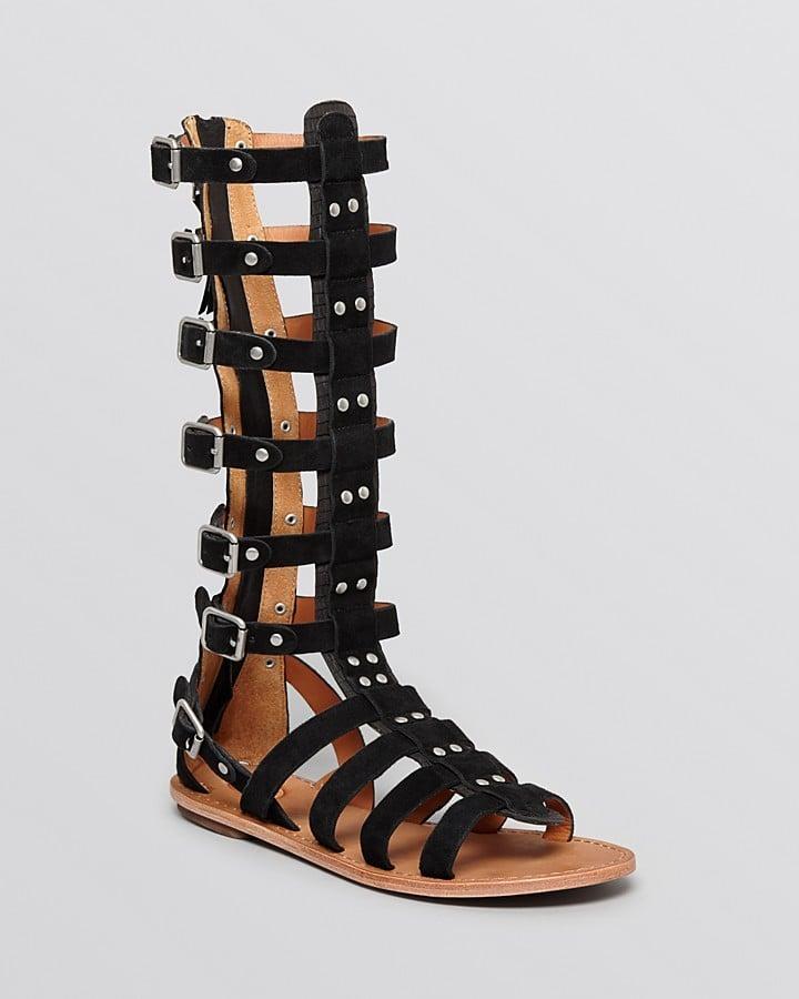 Ash Knee-High Gladiator Sandals