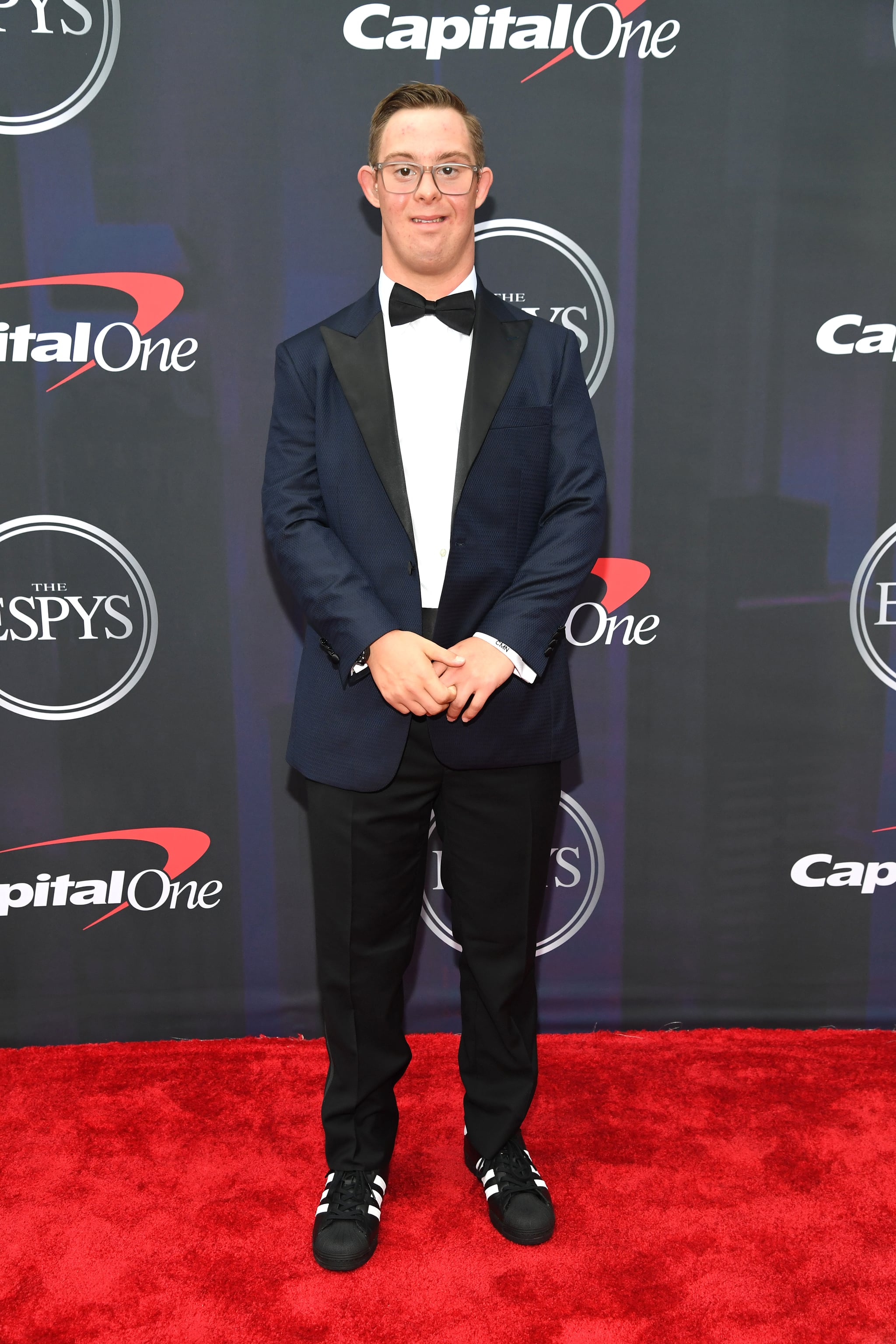 NEW YORK, NEW YORK - JULY 10:  Chris Nikic attends the 2021 ESPY Awards at Rooftop At Pier 17 on July 10, 2021 in New York City.  (Photo by Kevin Mazur/Getty Images)