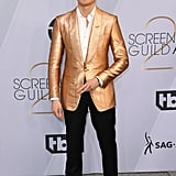Henry Golding at the 2019 SAG Awards