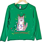 Electrocuted Cat Sweater