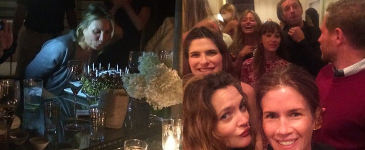 Cameron Diaz's Surprise Birthday Party | Instagram Pictures