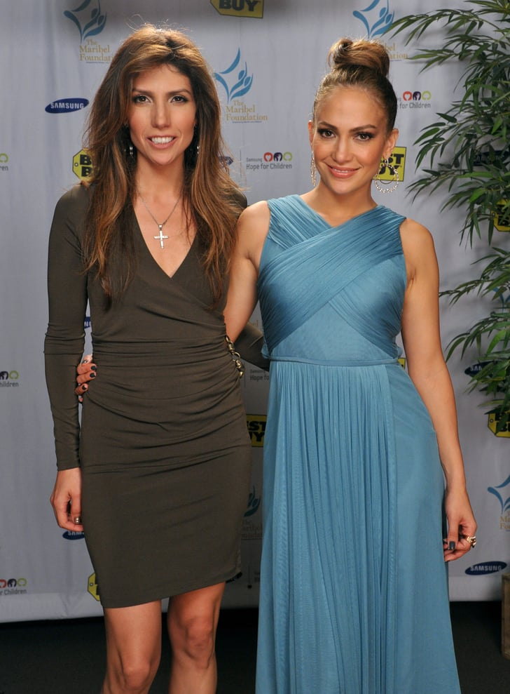 Jennifer Lopez was joined at the event by her sister Lynda.
