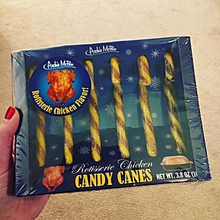 Rotisserie Chicken-Flavored Candy Canes