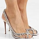 Aquazzura Temptation Patent Leather PVC Sandals