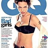 Angelina Jolie posed for the May 2000 Italian GQ cover.
