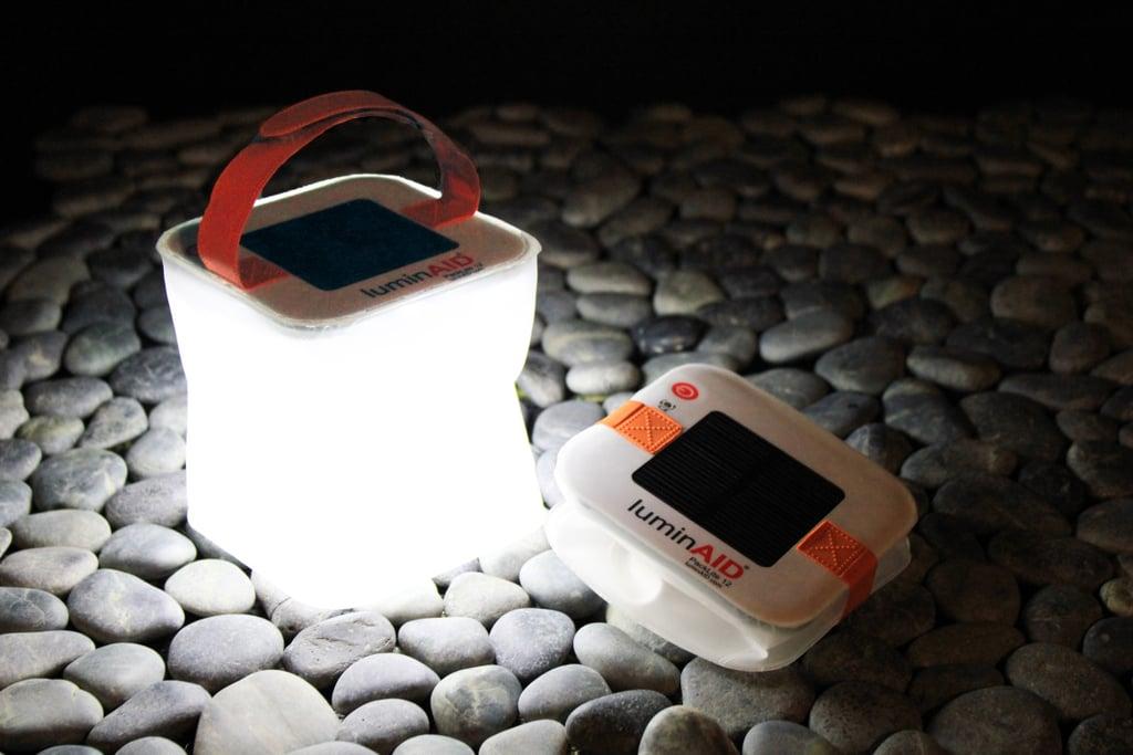 LuminAID Color-Changing Solar Light