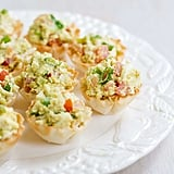 Curry Avocado Egg Salad Phyllo Bites
