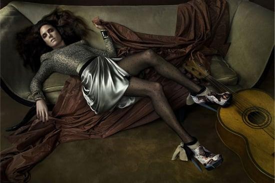 Jennifer Connelly for Balenciaga Fall 09 Ad