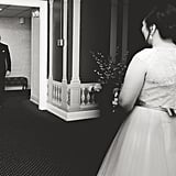 Groom's Reaction at His Korean-American Wedding