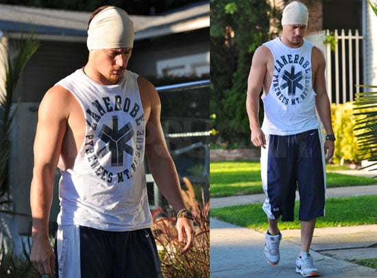 Pictures of Channing Tatum Working Out