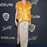 Hunter Schafer at the 2020 Golden Globes Afterparty