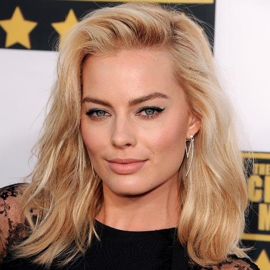Margot Robbie Hair and Makeup at Critics' Choice Awards 2014