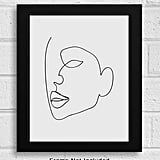 Abstract Minimalist Single Line Wall Decor