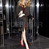 Brooklyn Decker Signs Autographs at MTV as She Preps For Her Just Go With It Premiere